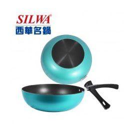 西華 馬卡龍不沾小炒鍋 28cm 出清特惠