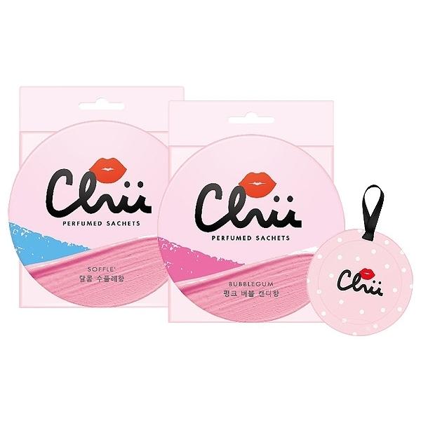 【任2件118,買2再送1】CHU 戀愛能量衣物香氛袋(3入) 款式可選【小三美日】