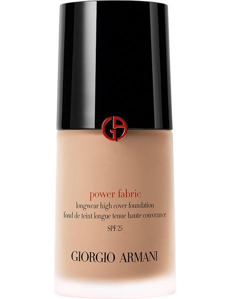 【Giorgio Armani】完美絲絨水慕斯粉底 Power Fabric Foundation 30ml【ALaSo美妝】