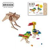 【虎兒寶】荷蘭 BRIKKON 益智遊戲板 啾啾小鳥兒