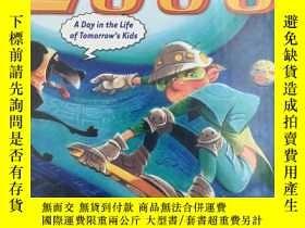 二手書博民逛書店2030:罕見A Day in the Life of Tomo