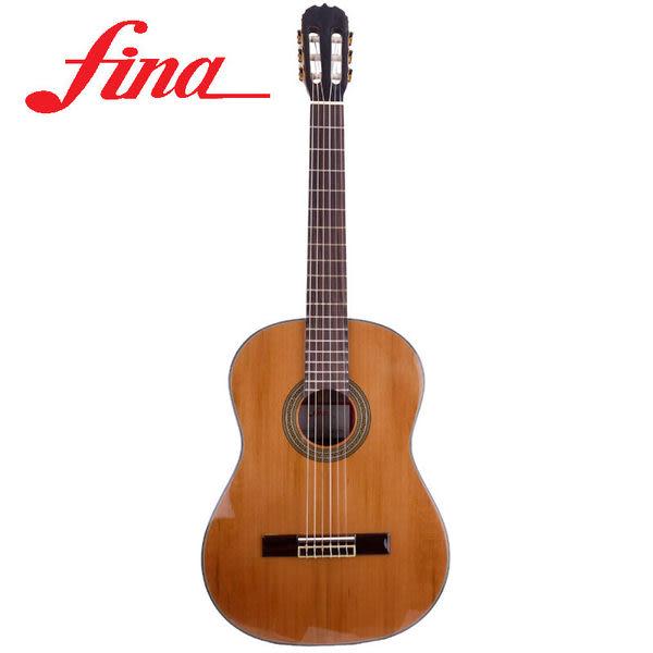 ★集樂城樂器★FINA-603S 紅松單版古典吉他~超值全配件限量款!!