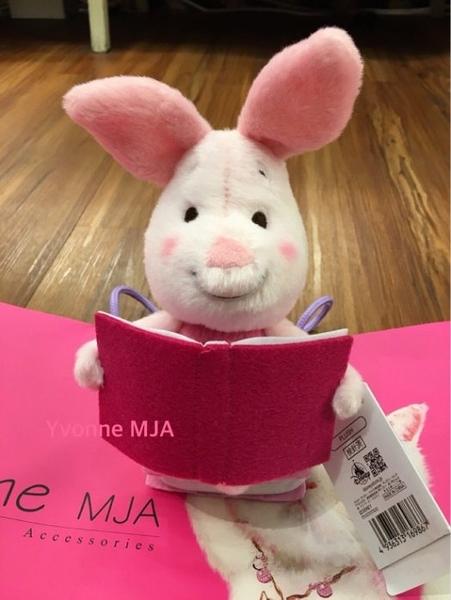 *Yvonne MJA* 東京迪士尼Disney樂園限定櫻花季看書小豬娃娃