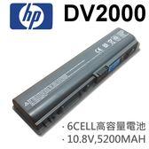 HP 6芯 DV2000 日系電芯 電池 COMPAQ Presario v3000 v3000~v399