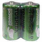 【奇奇文具】TOSHIBA 1號環保電池(2個)