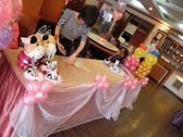 情意花坊新北市永和花店~婚禮會場氣球佈置3600元起歡迎洽詢~三峽金帝王