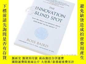 二手書博民逛書店創新的盲點罕見英文原版 The Innovation Blind