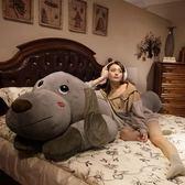 趴趴狗毛絨玩具狗狗公仔可愛女孩抱著睡覺懶人床上抱枕玩偶布娃娃-免運直出zg