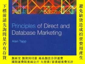 二手書博民逛書店Principles罕見Of Direct And Database MarketingY256260 Ala