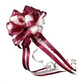 降價兩天 結婚用品拉花婚車裝飾用品把後視鏡手拉花彩帶花車隊裝飾婚房佈置