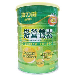 《三多士》偉力健 三多益力 鉻營養素(990g/罐)x2罐