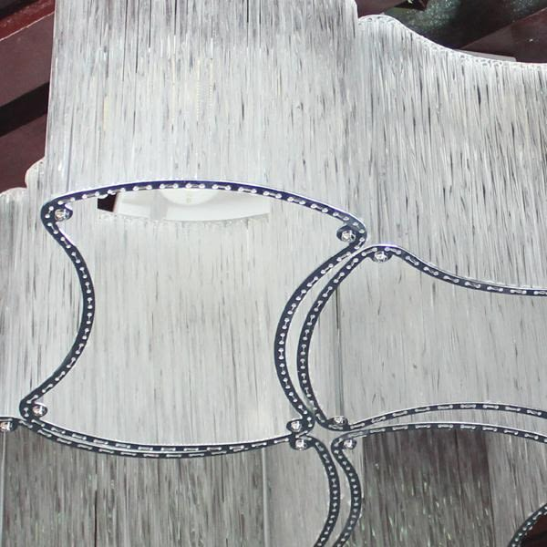 藝術玻璃管吸頂燈─直徑42高23─E27╳4【雅典娜家飾】AGZ161