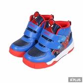 K-SHOES 童鞋 蜘蛛人高筒慢跑鞋 藍-R11406