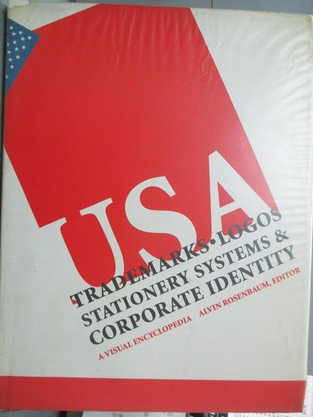 【書寶二手書T1/設計_QJA】Trademarks, logos stationery systems & corporate identity USA