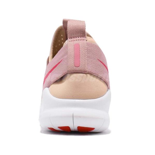 Nike 慢跑鞋 Wmns Free RN CMTR 2018 粉紅 白 抽繩鞋帶 運動鞋 女鞋【ACS】 AA1621-200