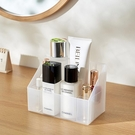 收納盒KM 5112 日本浴室鏡櫃收納盒化妝品口紅整理分隔塑料儲物盒梳妝台收納