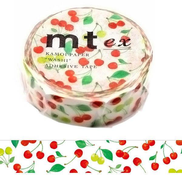 日本mt ex Masking Tape 和紙膠帶 櫻桃 15mm