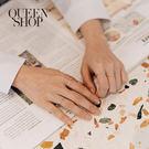 Queen Shop【07060115】造型簍空戒指套組 兩色售*現+預*