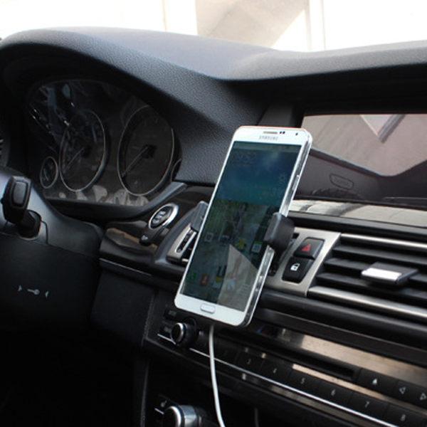 【SZ61】創意 車載手機支架 多功能便攜式蘋果汽車出風口 機車手機架 車用手機架