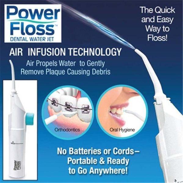 便攜式沖牙器 洗牙器 手動沖牙器口腔牙齒清潔器現貨