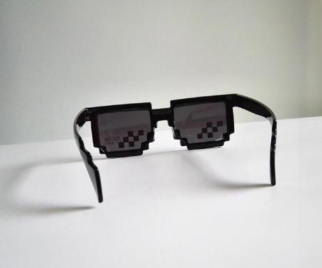 【NF229裝B眼鏡】裝B神器馬賽克眼鏡圖元墨鏡太陽眼鏡中國有嘻哈潮流動漫cosplay生日送禮