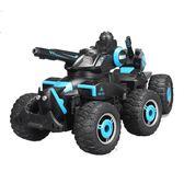 遙控汽車超大號充電動六輪坦克越野攀爬戰車大腳射水男孩玩具車 時尚教主
