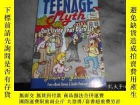二手書博民逛書店The罕見Great Teenage MythY3210