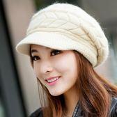 帽子冬女潮百搭針韓國織毛線帽甜美可愛學生冬季潮流冬天短發冒