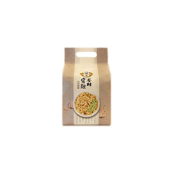 福忠字號 眷村醬麵(蒜香麻醬)125gx4包【小三美日】