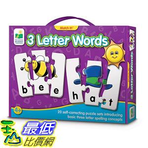 [106美國直購] 學習之旅 The Learning Journey Match It 3 Letter Words
