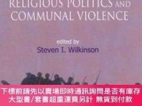 二手書博民逛書店Religious罕見Politics And Communal Violence (critical Issue