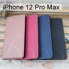 青春隱扣皮套 iPhone 12 Pro Max (6.7吋) 多夾層