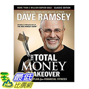 [106美國直購] 2017美國暢銷書 The Total Money Makeover:Classic Edition:A Proven Plan for Financial Fitness