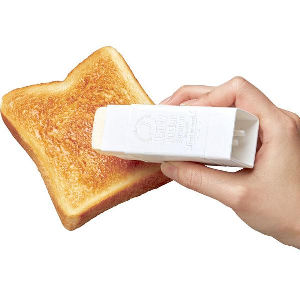 日本製KK-437旋轉式奶油塗抹棒 旋轉式 奶油吐司麵包塗抹器 早餐廚房用具【SV8439】BO雜貨