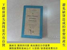 二手書博民逛書店Short罕見History Of Italian LiteratureY364682 John Humphr