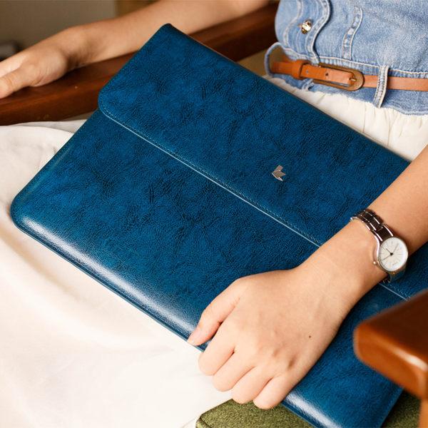 【現貨】JISONCASE 杰森克斯 Apple MacBook Air 11 吋 奢華真皮內膽包