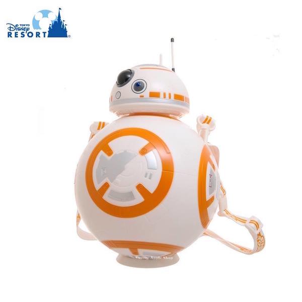 【SAS】日本限定 東京迪士尼樂園限定 星際大戰 BB-8 全新爆米花空桶 / 收納桶