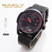 【完全計時】手錶館│BAKLY 重裝系列 原創輕量日本機芯 鋼殼結構 生日禮物 BA9023-1 質感紅