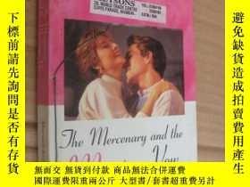 二手書博民逛書店The罕見mercenary and the marriage