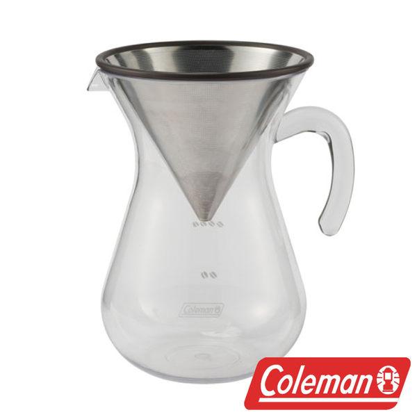 Coleman 手沖濾式咖啡器具組-附收納袋 咖啡壺 茶壺 水壺 CM-26782