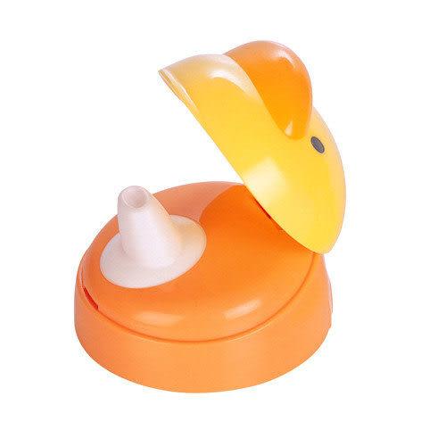 【奇買親子購物網】黃色小鴨四階段訓練杯上蓋(鴨嘴型)
