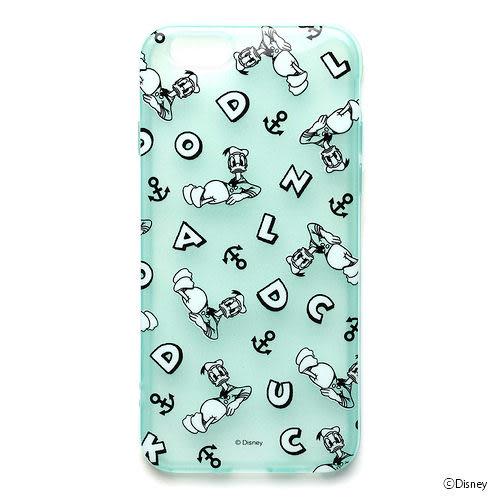【漢博商城】iJacket 迪士尼 iPhone 6 Plus 半透明軟式保護殼 - 唐老鴨