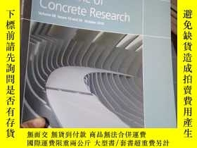 二手書博民逛書店Magazine罕見of Concrete Research V