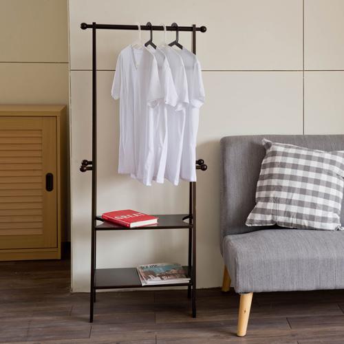 衣帽架 收納【收納屋】藤木A字型衣架-三色可選&DIY傢俱