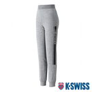 K-SWISS Ks Waist Band Sweat Pants棉質運動長褲-女-灰