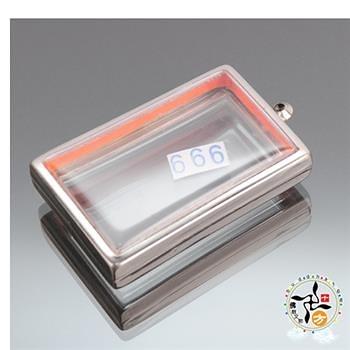 長方型嘎嗚舍利盒6.7公分【十方佛教文物】