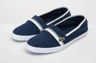 LACOSTE 女鞋 藍色 MARICE 118 1 CAJ / 帆布 鞋款( 35CAJ0017-092) 18A