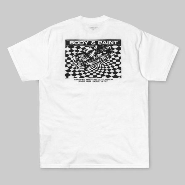 【現貨】Carhartt WIP 2019 春夏 Body & Paint 前後 Logo 短袖 T恤 黑白 休閒 CHBPW0