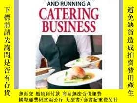 二手書博民逛書店The罕見Everything Guide to Starting and Running a Catering