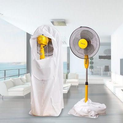 【全館5折】WaBao 無紡布電風扇罩子 防塵罩 (小號) =Z09099=